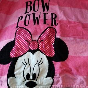 Adorable Disney minnie bath towel